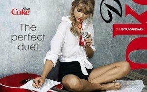 Coca-cola Brand Advocate Taylor Swift