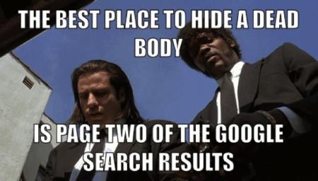 Google Search Pun